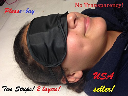Blindfold eye mask eyemask sleep aid Sunglass light - Sunglasses And Diamonds Marina The