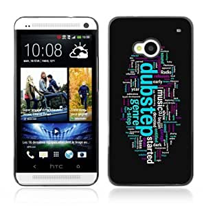 YOYOSHOP [Cool Dubstep & Music Illustration] HTC One M7 Case