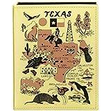 Texas Embossed Photo Album 200 Photos / 4x6