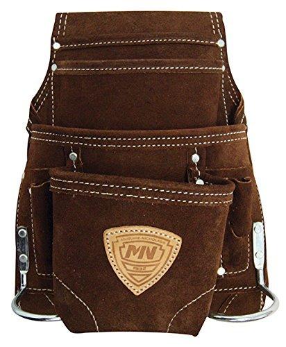 McGuire-Nicholas 10 Pocket Leather Tool Belt Pouch