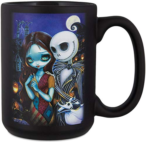 Disney Parks Jack And Sally Mug By Jasmine Becket-Griffith
