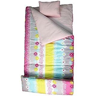 SoHo Kids Sleeping Bag 50 Degree, Daisy Stripes