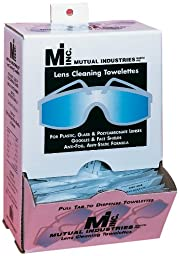Mutual 50042 Lens Cleaning Towelette Dispenser