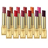 MISKOS 12PC Matte Waterproof LipStick Summer Long Lasting Lip Makeup Set No Fade Pigmented Lip Stick Cosmeitc Gift Kits