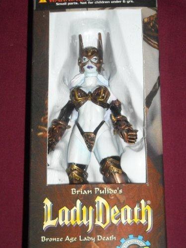 centro comercial de moda Lady Death Juguetefare Exclusive Wizard Bronze Age Acción Figura by by by Lady Death  gran descuento