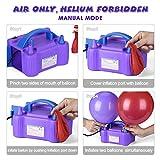 MESHA Portable Electric Balloon Pump, Dual Nozzle