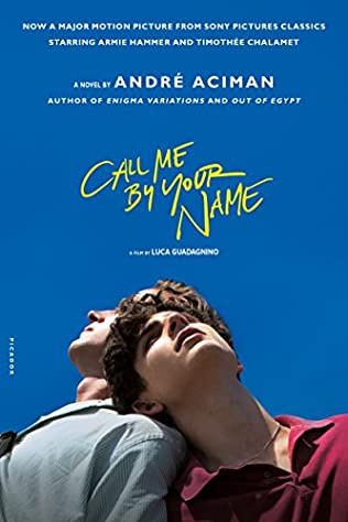 book cover of Call Me by Your Name