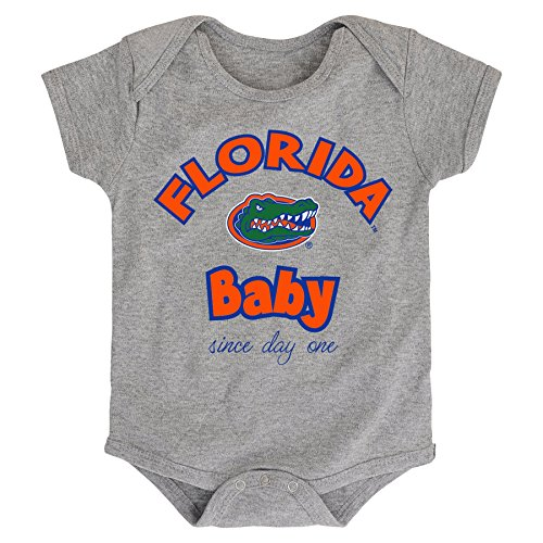 - NCAA Florida Gators Newborn & Infant Team Baby Bodysuit, 24 Months, Heather Grey