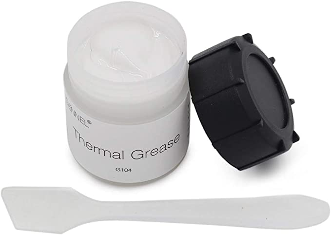 AmazonSmile: GENNEL 20g White Thermal Conductive Compound Grease, Heat Sink Paste for CPU GPU LED IC Chipset: Computers & Accessories