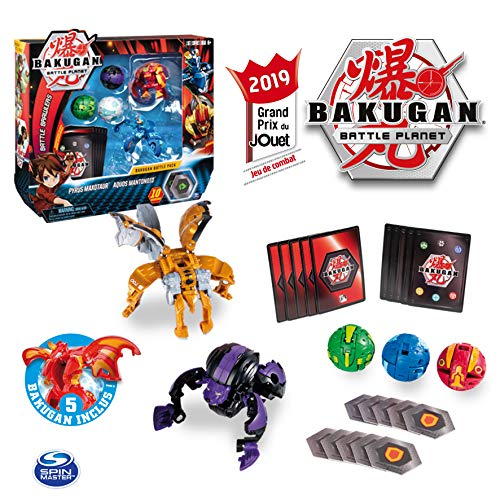 (Bakugan 6045132 Battle Pack Assortment (Styles May Vary), Multicoloured )