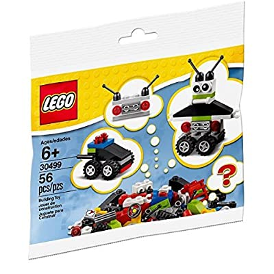 LEGO Robot Vehicle Free Builds - Make It Your Own (30499) 56 Piece Polybag Set: Toys & Games