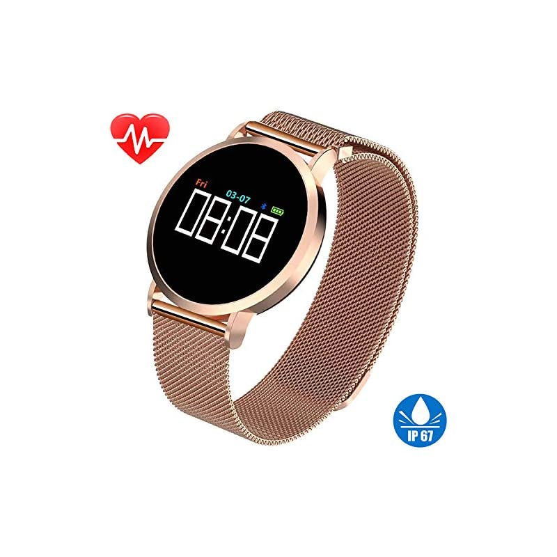 Women's Smart Watch for iPhone Android F