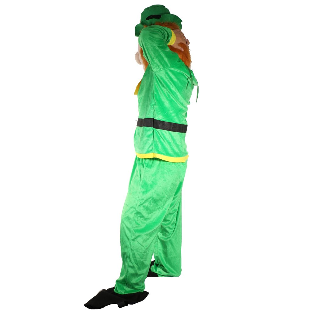 MagiDeal Herren Kostüm Grüner Kobold St Patricks Day Kostüm ...