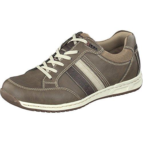 Relife Herren Schuhe Sneaker Schnürhalbschuhe 8557-18711-06 in 2 Farben bis Gr.48 Taupe