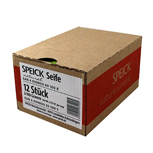 Box of 12 Speick Soaps (3.5oz) bar by Speick -