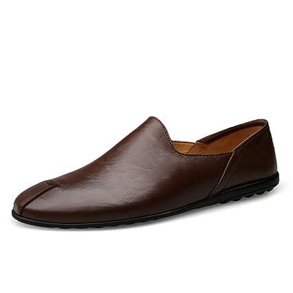 GPF-fei Zapato de los Hombres, Primavera otoño cómodos Mocasines Zapatos Moda Impermeable conducción