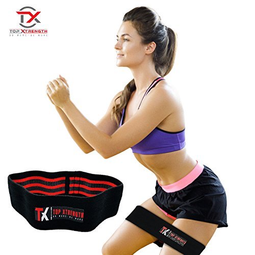 Hip Resistance Band – Best Sling for Men and Women's Muscles alike – Top Sling For Squats, Leg Press, Lunges – Target your Quads, Thighs & Glutes - Grip Technology For Workout