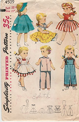 Doll Clothes Pattern for Saucy Walker Doll (Saucy Walker)