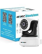 Wireless WiFi IP Security Camera - GENBOLT Indoor Dog Camera Night Vision Pan Tilt CCTV Spy Camera 1080P for Home Surveillance