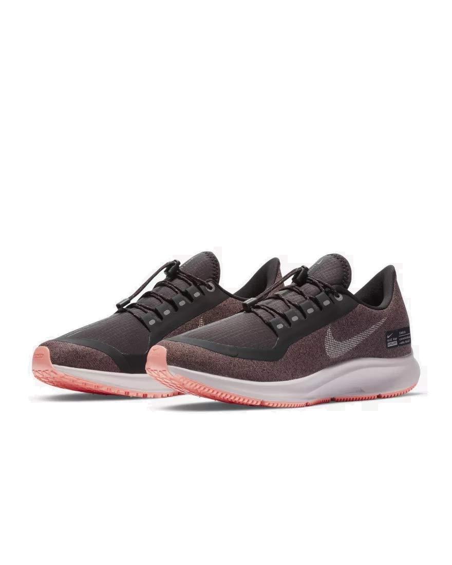 feb383a3622b NIKE Air Zoom Pegasus 35 Shield Women s Shoes Oil Grey Smokey Mauve Rose  aa1644-001 (7.5 B(M) US)