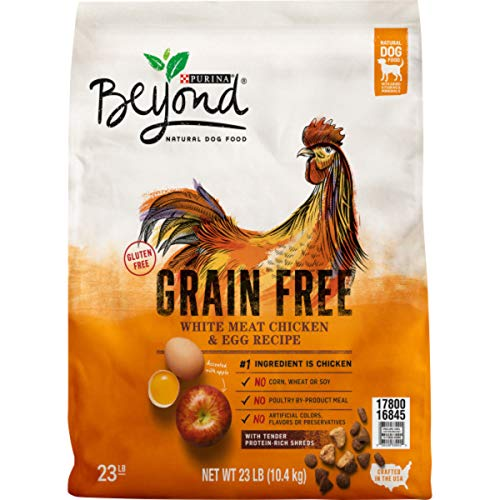 Purina Beyond Grain Free, Natural Dry Dog Food, Grain Free White Meat Chicken & Egg Recipe - 23 lb. Bag