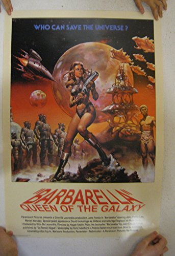 Barbarella Queen Of The Galaxy Poster Jane Fonda