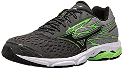 Mizuno Men's Wave Catalyst 2 Running Shoe, Charcoalgreen Flash, 11 D Us