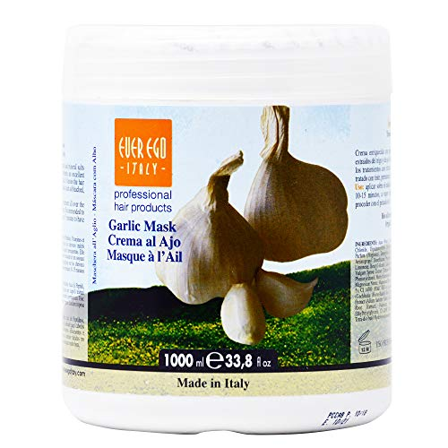 Ever Ego Garlic Mask Hot Oil Treatment with Garlic - 33.8 oz / liter