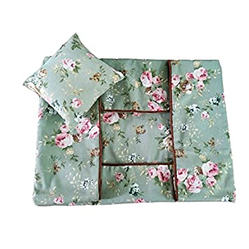 Lona de algodón Teddy nido se puede cambiar a lavar la caseta para nido para lavado conjuntos de juegos de edredones: Amazon.es: Hogar