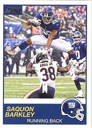 low cost 2f4e0 be52d Amazon.com: 2019 Score #174 Saquon Barkley NY Giants NFL ...