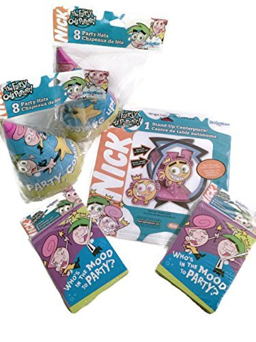 DesignWare Party Pack Nickelodeon the Faiy Odd Parents Set of 16