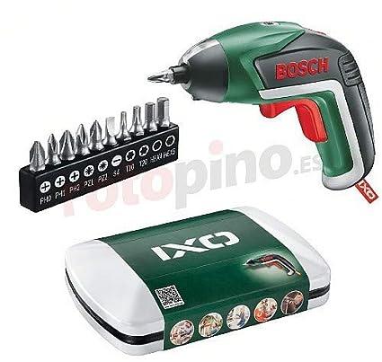 Bosch IXO - Basic Negro, Verde 215 RPM - Destornillador (3,6 V, Ión de Litio, 6 h, 300 g, 215 RPM, Batería)