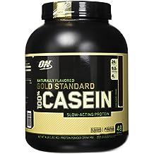 Optimum Nutrition Gold Standard 100% Casein Protein Powder, Naturally Flavored Chocolate Creme, 4 Pound