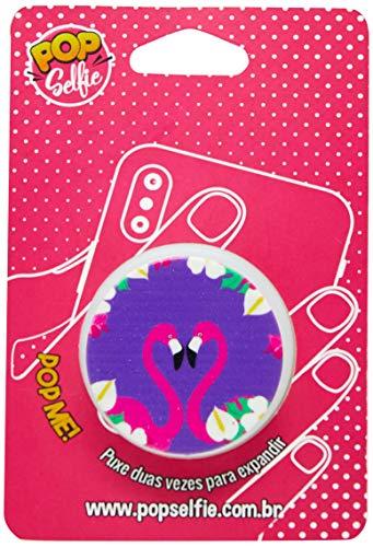 Apoio para celular - Pop Selfie - Original Flamingo PS124, Pop Selfie, 151266, Branco