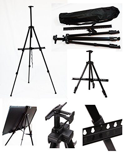 TheDisplayDeal Tripod Easel for Display, Message, Writing Boards (Tripod Stand)