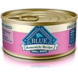 Blue Buffalo Homestyle Recipe Natural Adult Small Breed Wet Dog Food, Chicken 5.5-Oz Can (Pack Of 24)