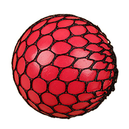 Mesh Ball Stress Squeeze Grape Toy Anxiety Relief Stress Ball