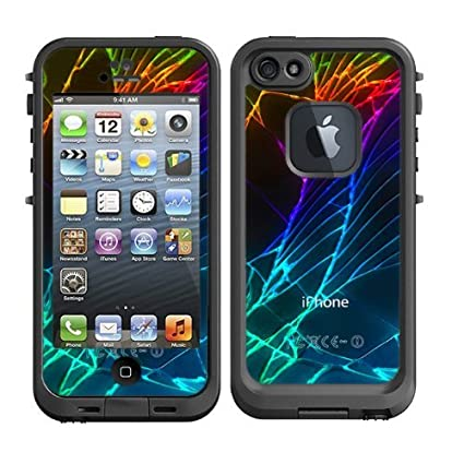 Skins kit for lifeproof iphone 5 case skins decals only black iphone