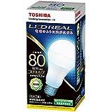 東芝ライテック LED電球 一般電球形 全方向タイプ 80W 昼白色 LDA9N-G/80W 口金直径26mm