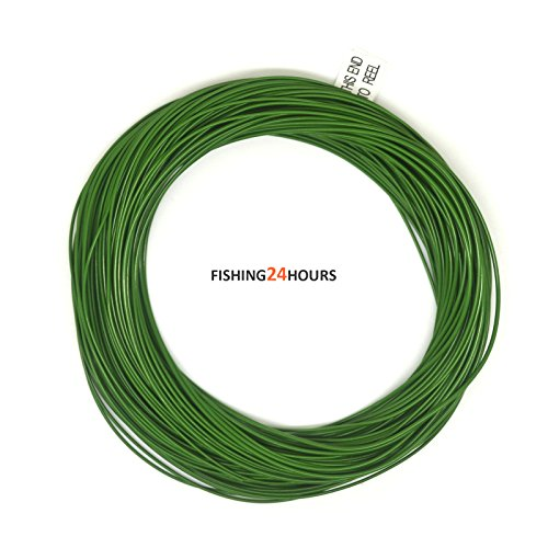100ft Fly Fishing Line Weight Forward Sinking (4S, 5S, 6S, 7S, 8S) Running Line Trout Grey NEW (grass green, 6S)