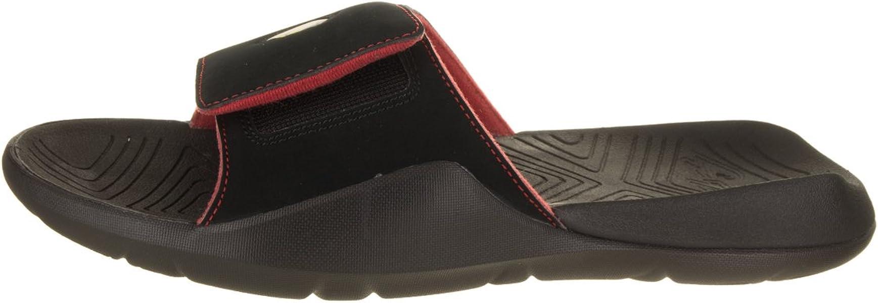 49bee1f00f0259 Jordan AA2517-003  Men s Black Black-Varsity Jordan Hydro 7 Retro ...