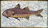 12x20'' Fish Mosaic Art Tile Wall Floor Pool Decor