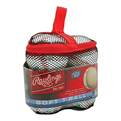 Rawlings 6 pack Bag of T-balls