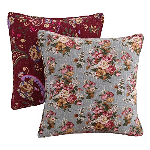 Greenland Antique Chic Dec. Pillow Pair Accessory-Multi, Multicolor