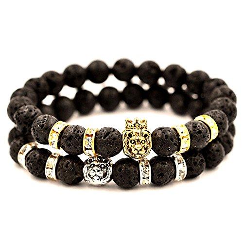 Domika Womens Leopard Energy Bracelet