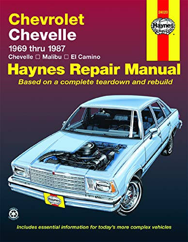 Chevrolet Chevelle '69'87 (Haynes Repair Manuals)