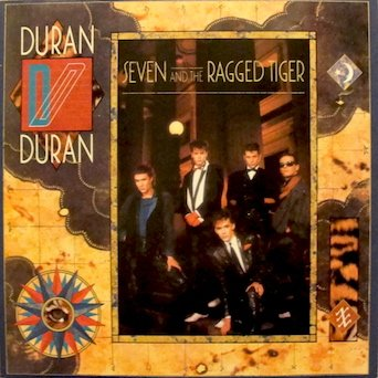 Duran Duran: Seven And The Ragged Tiger. Tracklist; The Reflex. New Moon On Monday. Cracks In The Pavement. I Take The Dice & More