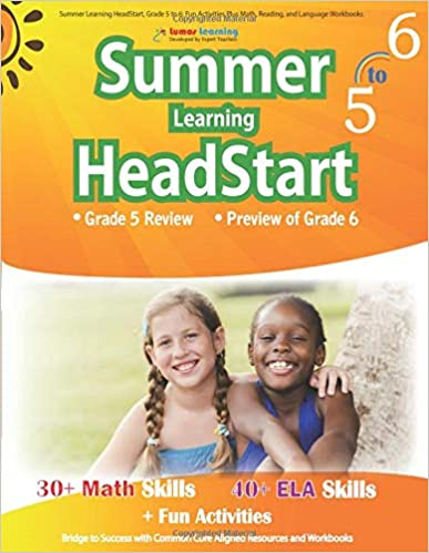 Amazon com: Summer Learning HeadStart, Grade 5 to 6: Fun