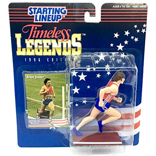 (Starting Lineup BRUCE JENNER / USA OLYMPIC TRACK AND FIELD (1976 SUMMER OLYMPICS) 1996 TIMELESS LEGENDS Kenner Exclusive Collector Trading Card)