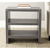 Safavieh Home Collection Lacey Grey Side Table